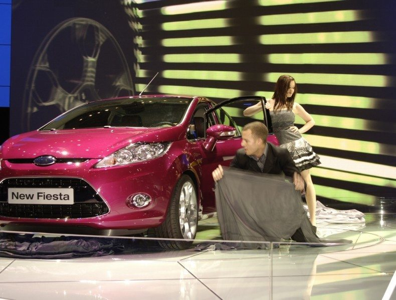 Exhibition Magicians Ford Fiesta Launch