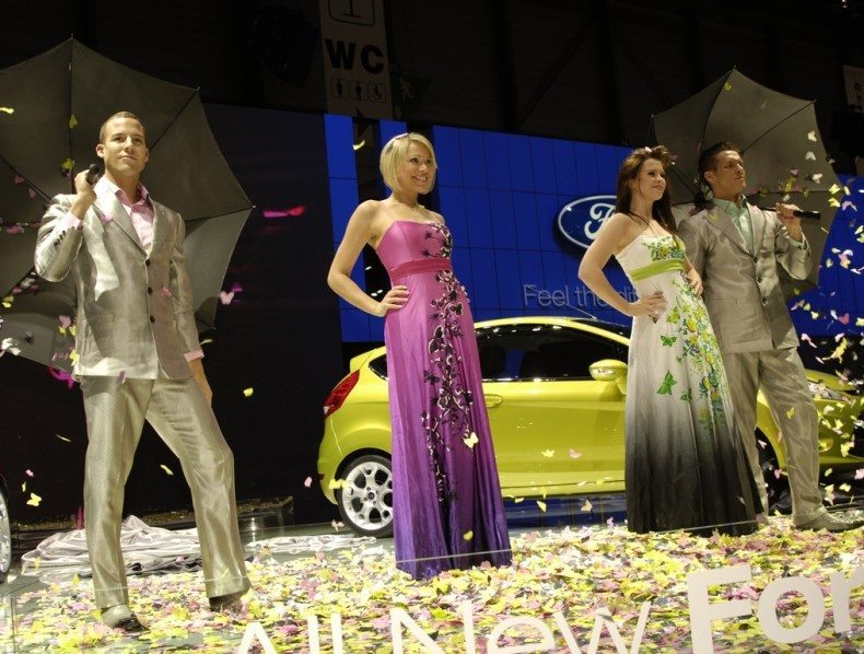 Ford Fiesta Launch