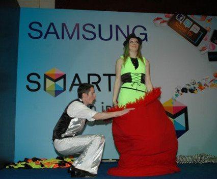 Exhibition Magicians Samsung Smart TV Launch Kuwait