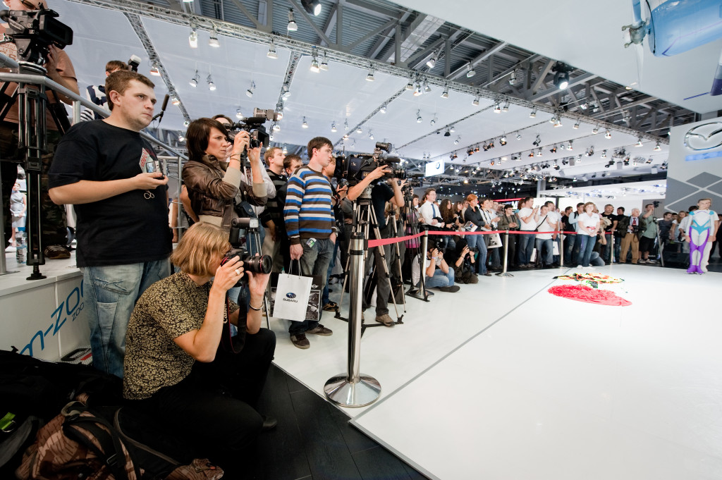 Exhibition Magicians get press