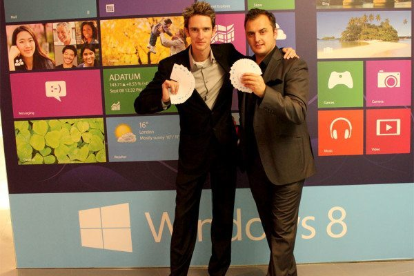 Product Launch magicians Launch Windows 8